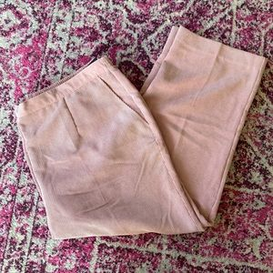 Alfred Dunner Pink Corduroy Classic Fit Pant NWT